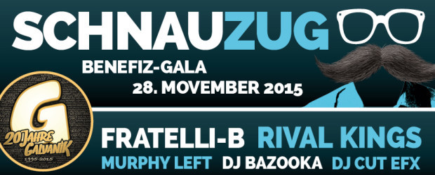 End of Movember Benefiz-Gala 2015